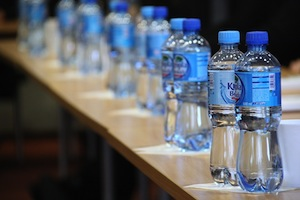 Stay hydrated for better memory - photo of bottled water