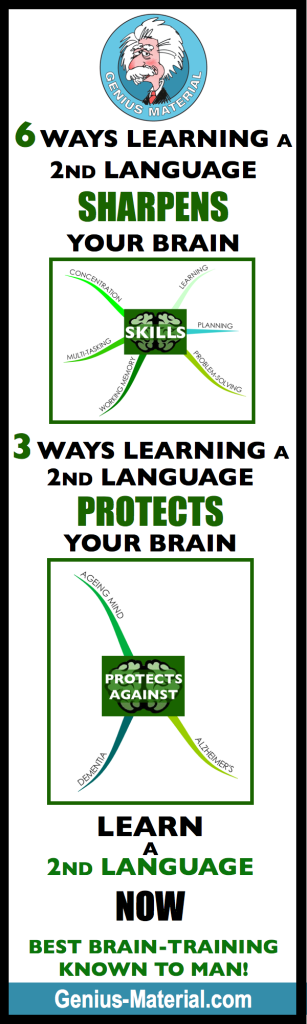 Second Language - First Priority - infographic