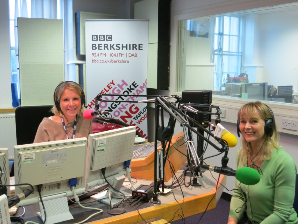 Lysette Offley on BBC Radio Berkshire 25.10.12 Grand Designs, Cognitive Hypnotherapy and Revising for Exams