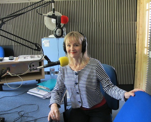 Lysette Offley talking about Genius Material Study Strategies on Marlow FM 15.08.11