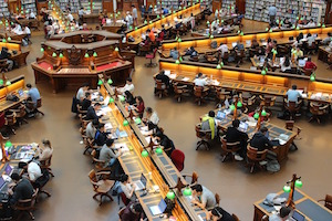 secret of successful study - library