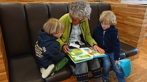 Learning is fun! Or is it? Photo of children reading
