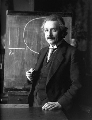 8 facts about memory. Photo of Einstein