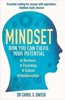 Fixed Mindset -v- Growth mindset: Photo of book cover
