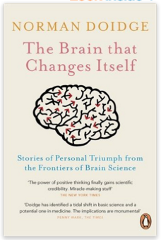 Who likes a good moan? - photo of book: The Brain That Changes Itself
