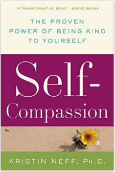 What cost, improving self-esteem. Image of book cover: Self-Compassion