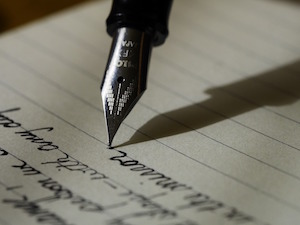 Why writing lines really is punishment - photo of writing