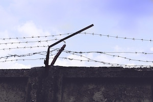 Are you doing anxiety & depression? Photo of prison wall