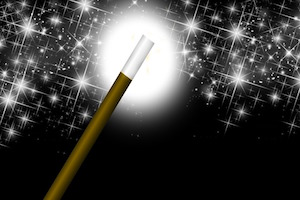 Do you believe in The Magical Number Seven? - photo of magic wand