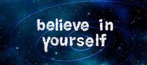 Develop a Growth Mindset - graphic: Believe in yourself