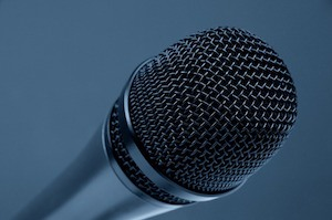 Change the record to fix your memory problems and learn anything - photo of microphone